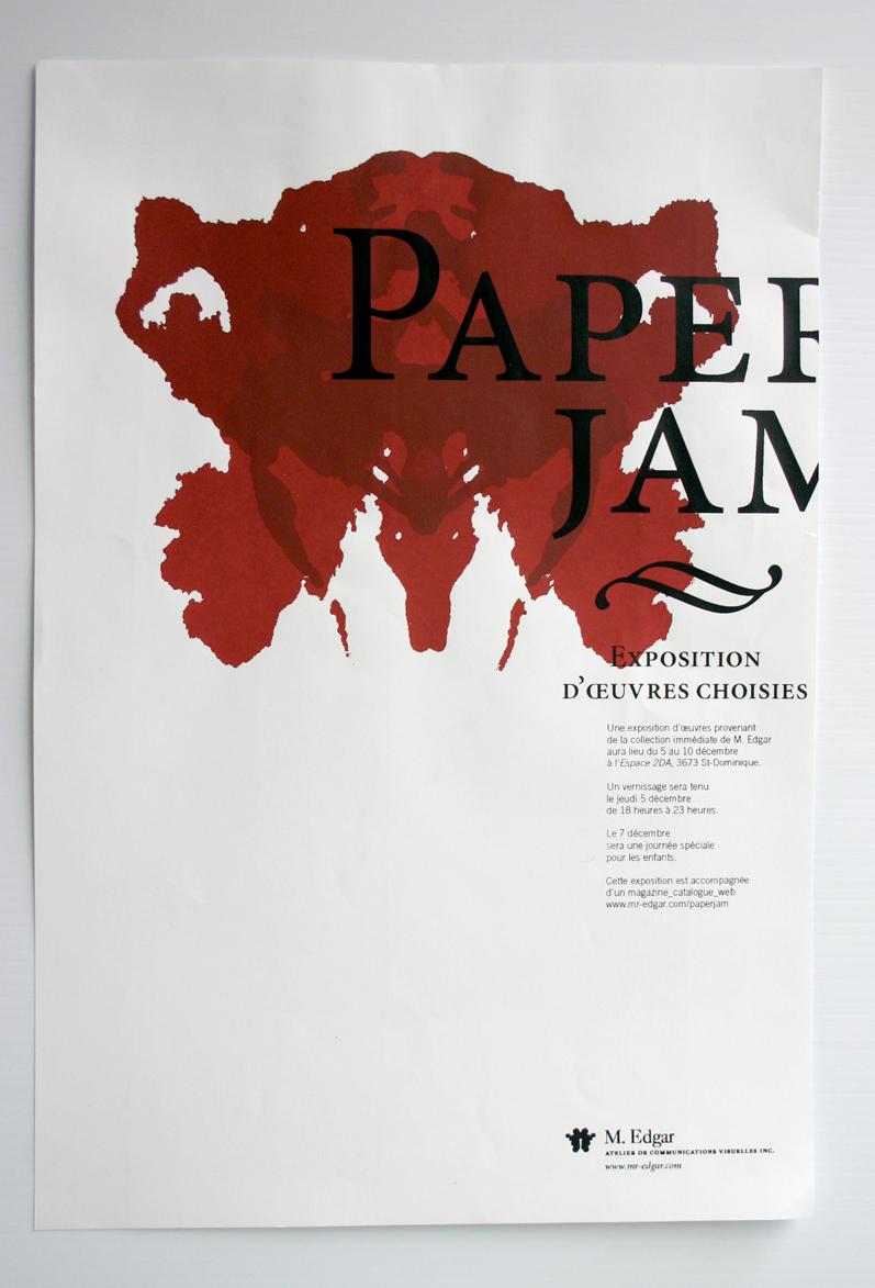 Fabuleux Mélanie Baillairgé » Affiches d'exposition collective FU18
