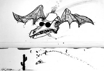 Ralph Steadman, Fear and Loathing in Las Vegas